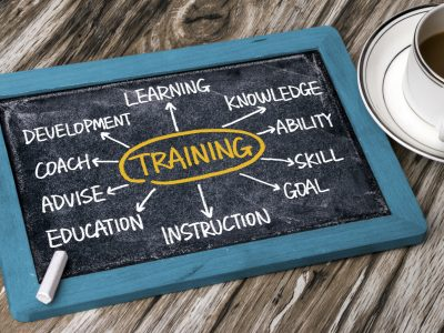 Sales skills training process