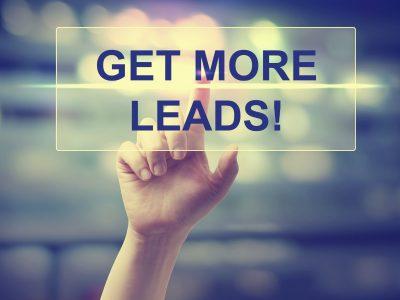 Sales lead management process